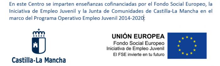 Enseñanzas cofinanciadas FSE